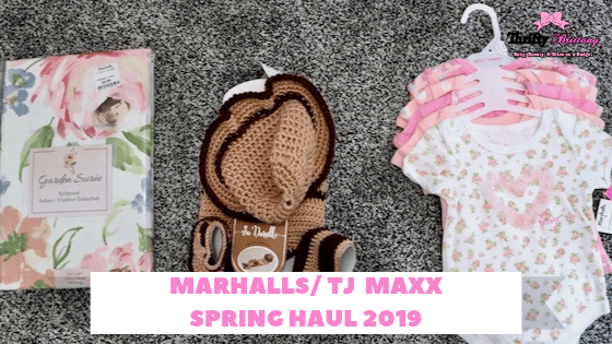 graphic about Marshalls Printable Application known as Marshalls / TJ Maxx Spring HAUL 2019 - Thrifty Brittany